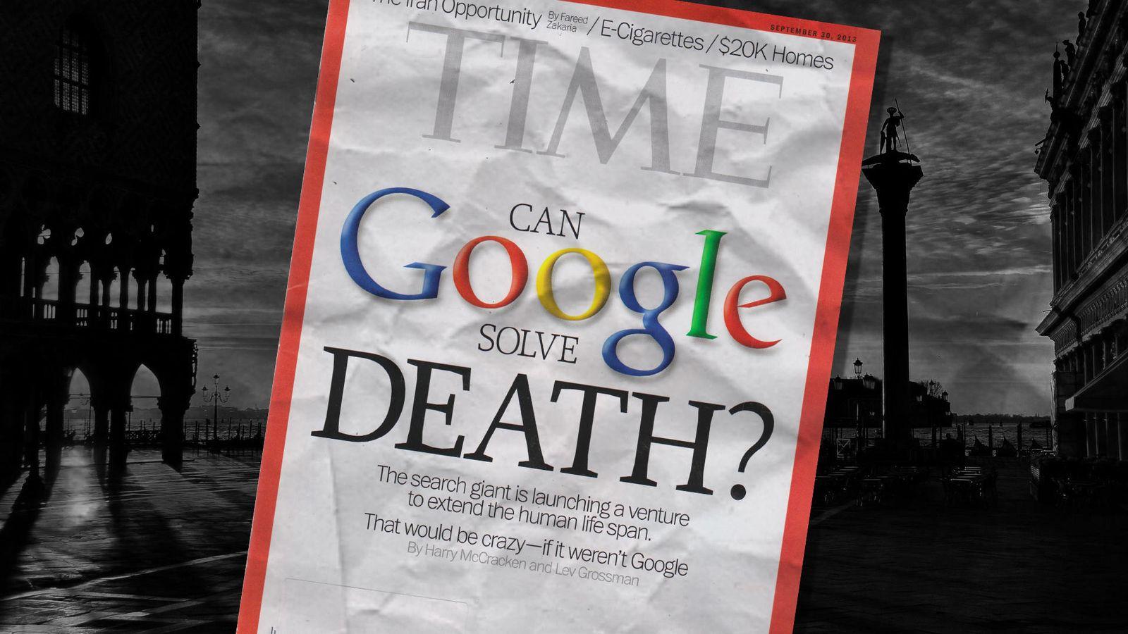 Foto: Así es como Google conseguirá que vivas 500 años