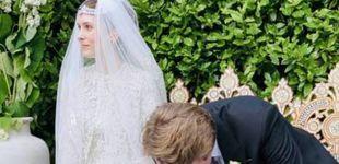 Post de El vestido y las joyas de la hija de Noor de Jordania, primera novia royal poscovid
