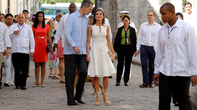 Los Reyes por La Habana. (EFE)