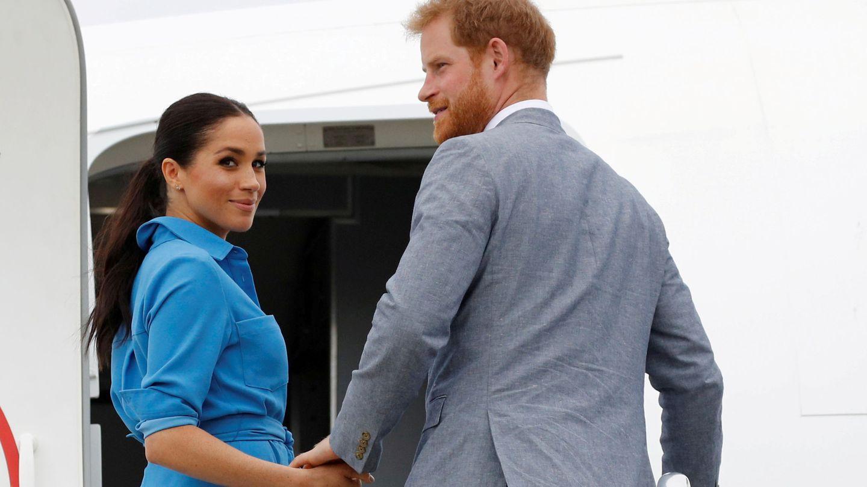 Los duques de Sussex en 2018. (Reuters)