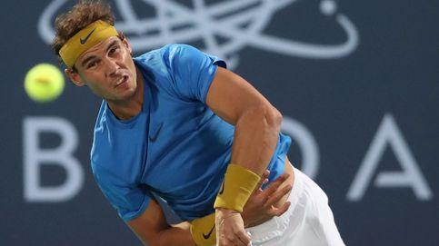 Rafa Nadal pierde en su reaparición y no jugará este sábado para no arriesgar