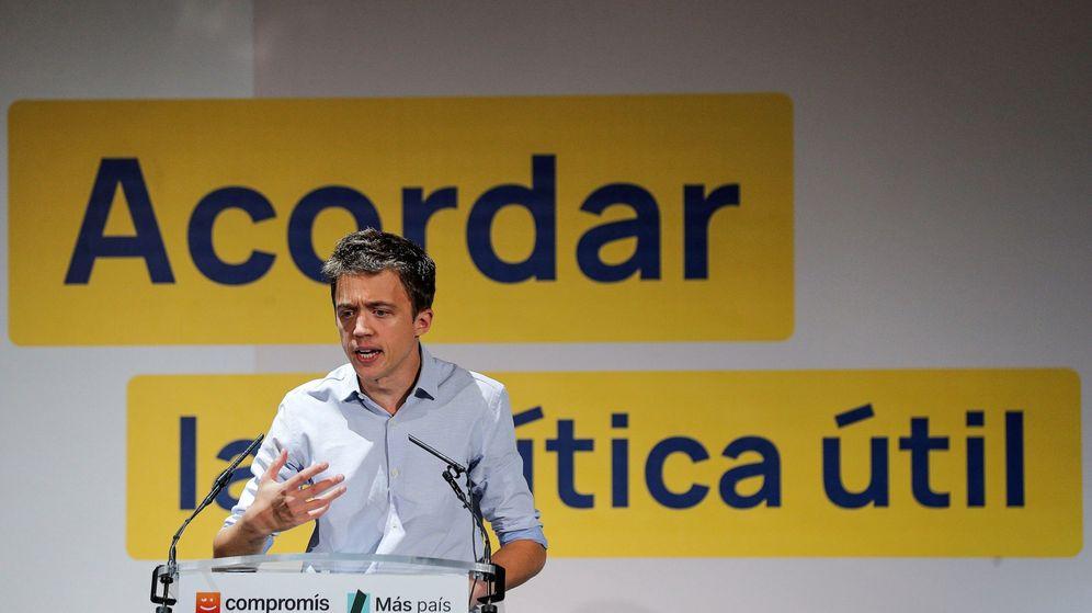 Foto: Errejón en el acto de Más País en Valencia. (Efe)
