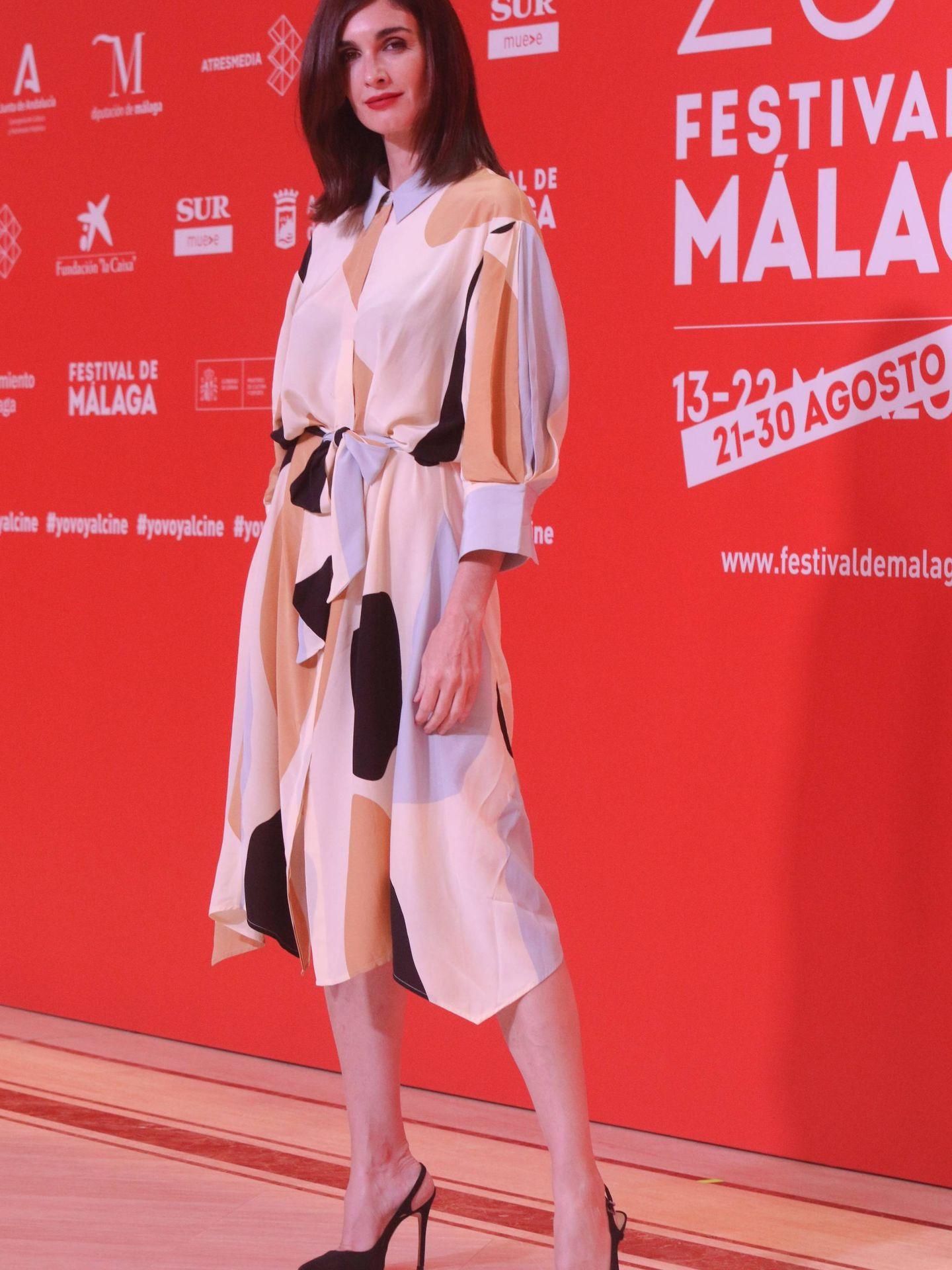 Paz Vega, en el Festival de Cine de Málaga. (Cordon Press)