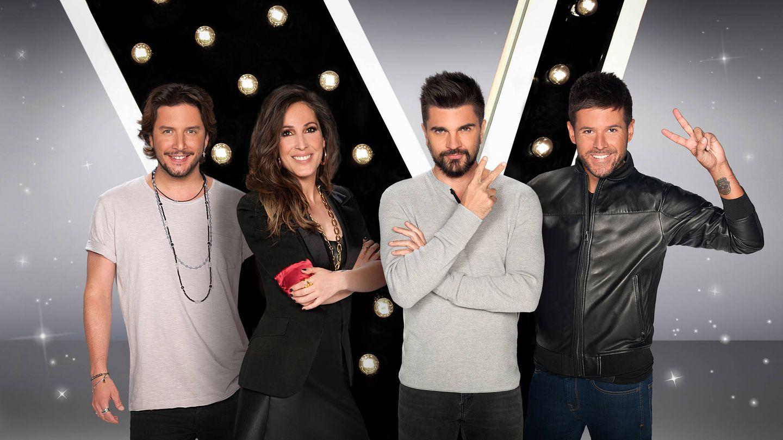 El equipo de coaches de 'La Voz 5'.