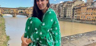 Post de Tatiana Santo Domingo y su maleta boho para un fin de semana en Florencia