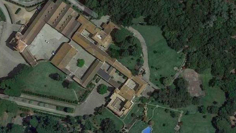 La casa de la finca donde se celebrará la fiesta posterior. (Google Maps)