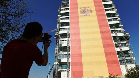 Lo que la bandera más grande de España oculta sobre el urbanismo madrileño