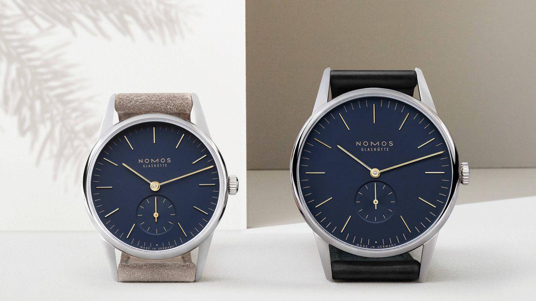 Foto: Los dos nuevos relojes de NOMOS Glashütte.