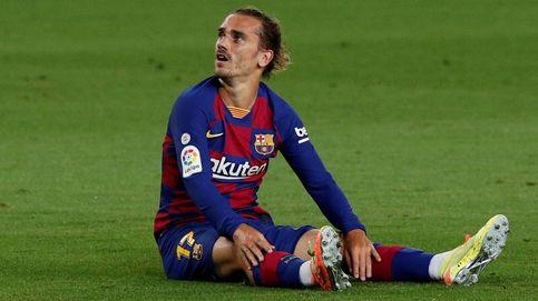Más difícil para el Barça: Griezmann se pierde lo que resta de Liga por lesión