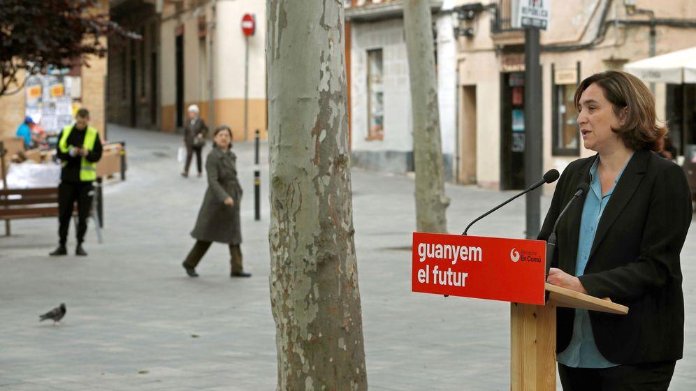 Foto:  La alcaldesa de Barcelona y candidata de Barcelona en Comú a la reelección, Ada Colau. (EFE)