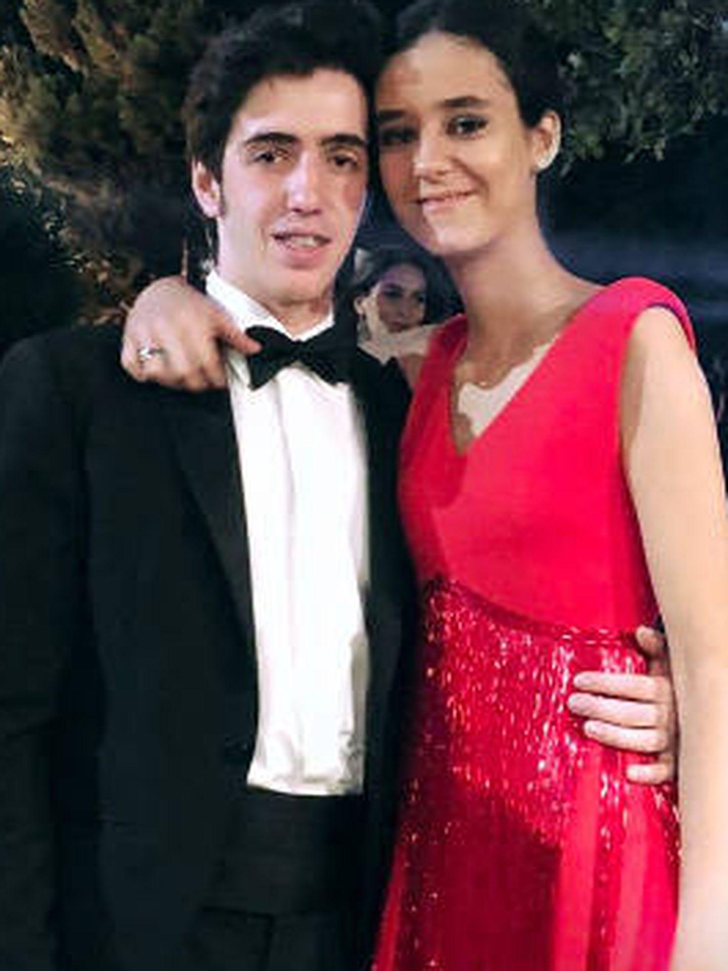 Victoria Federica y Carlos Ochoa en la fiesta. (@ochoa_carlitos)