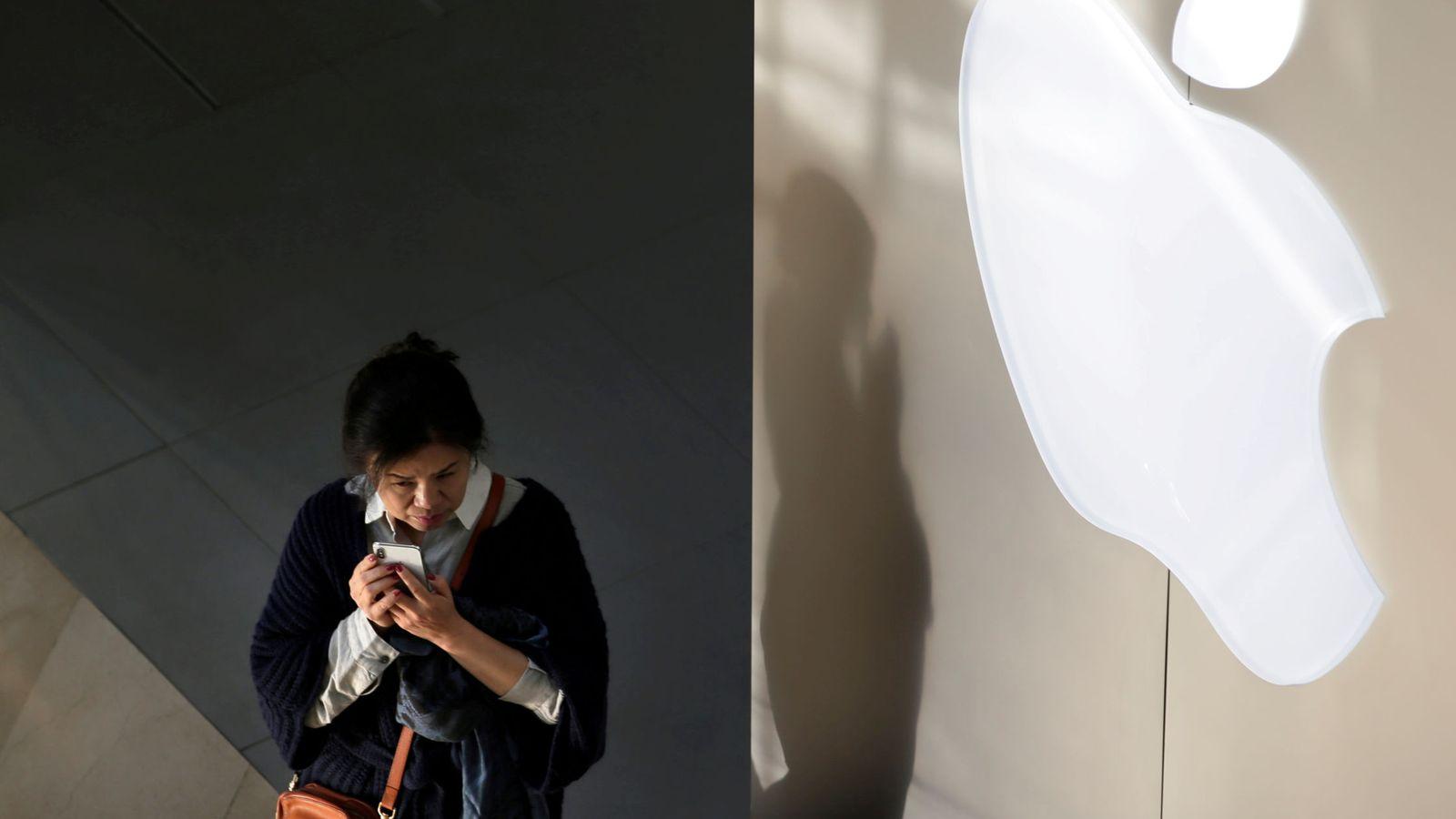 Foto: Tienda de Apple en Pekín, China. (Reuters)