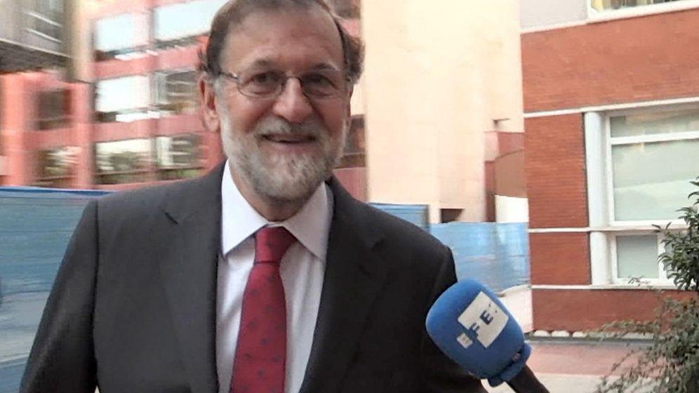 Foto: Rajoy se incorpora a su plaza en el registro mercantil de madrid