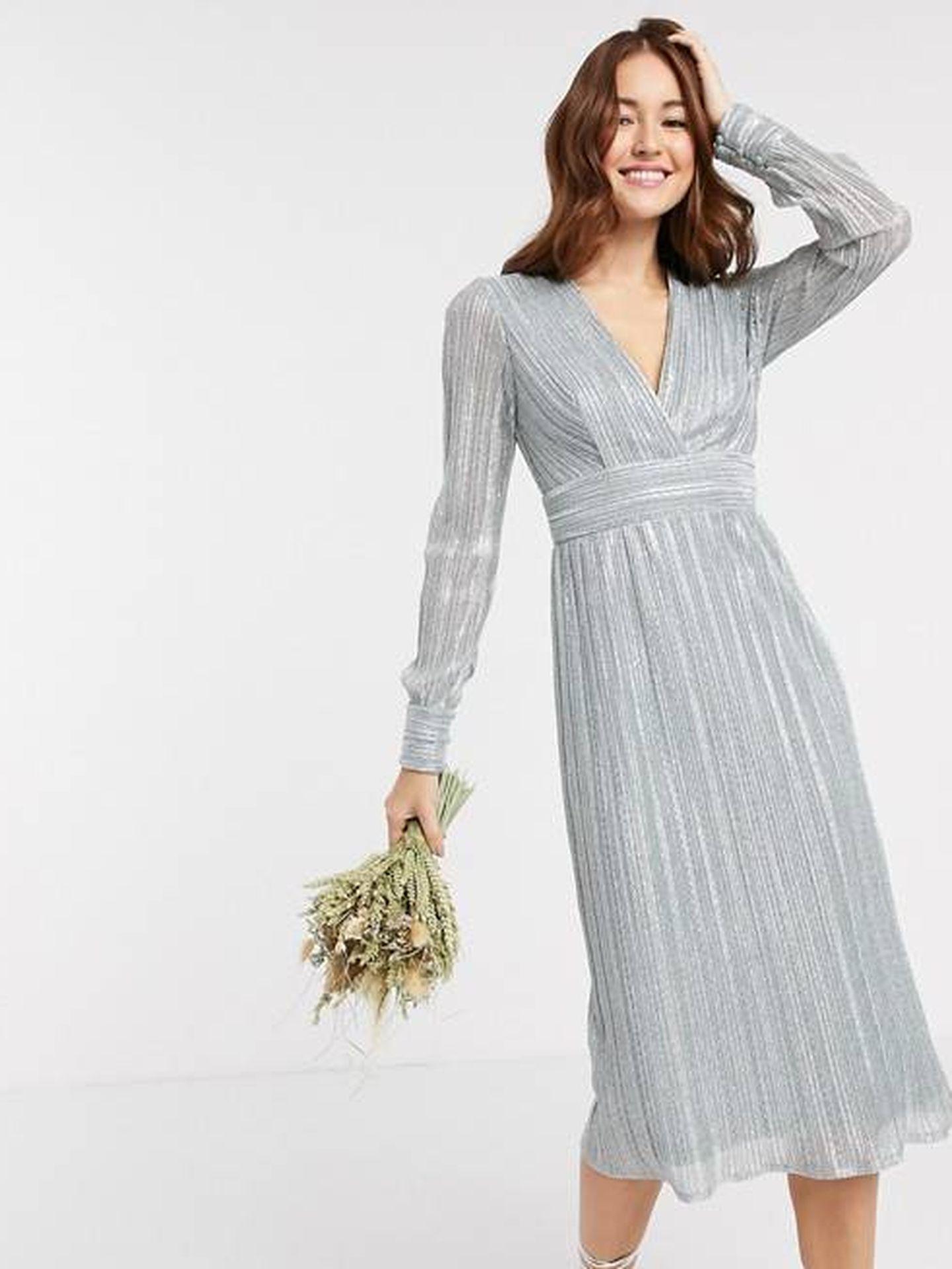 El vestido de Asos. (Cortesía)