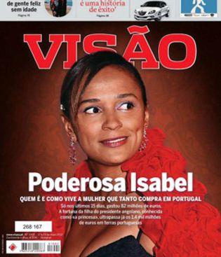 Foto: Isabel Dos Santos, la primera mujer 'milmillonaria' de África con sólo 40 años