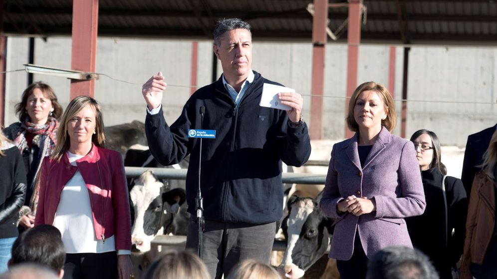 Foto: El líder del PP en Cataluña, Xavier García Albiol. (EFE)