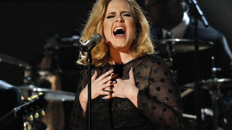 Adele, en febrero de 2012. (Reuters)