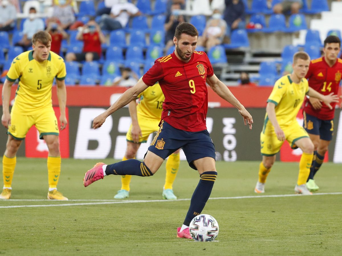 Foto: Abel Ruiz, con la Selección. (Reuters)