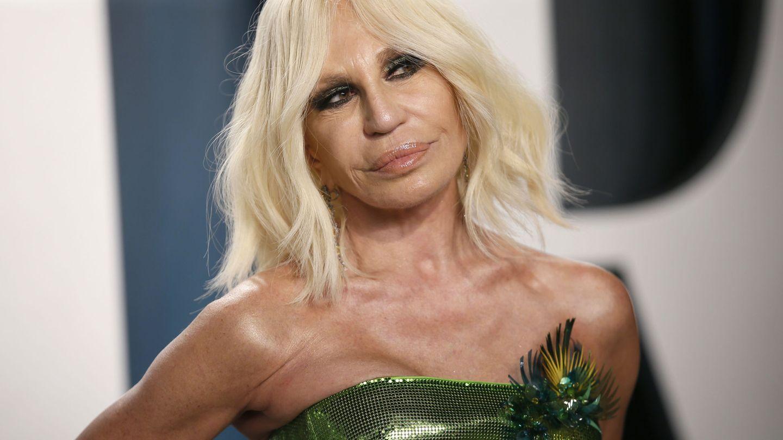 Donatella Versace. (Reuters)