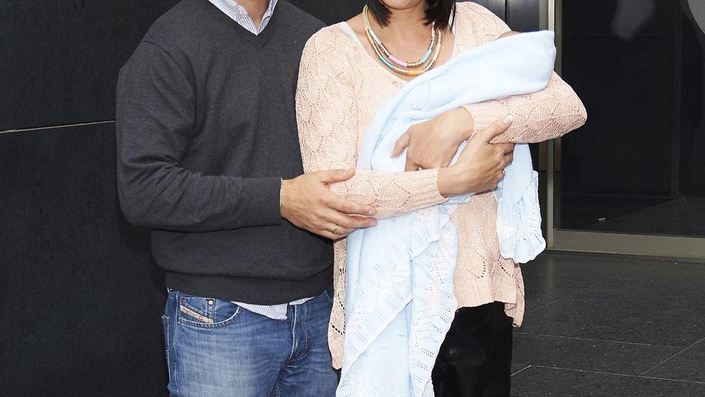 Irene Villa presenta a su segundo hijo, Pablo
