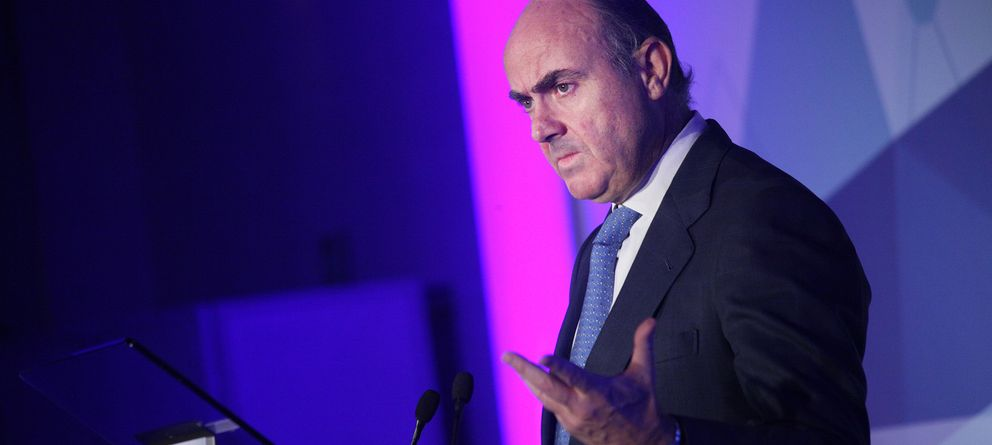 Foto: El ministro de Economía, Luis de Guindos. (E. Villarino)