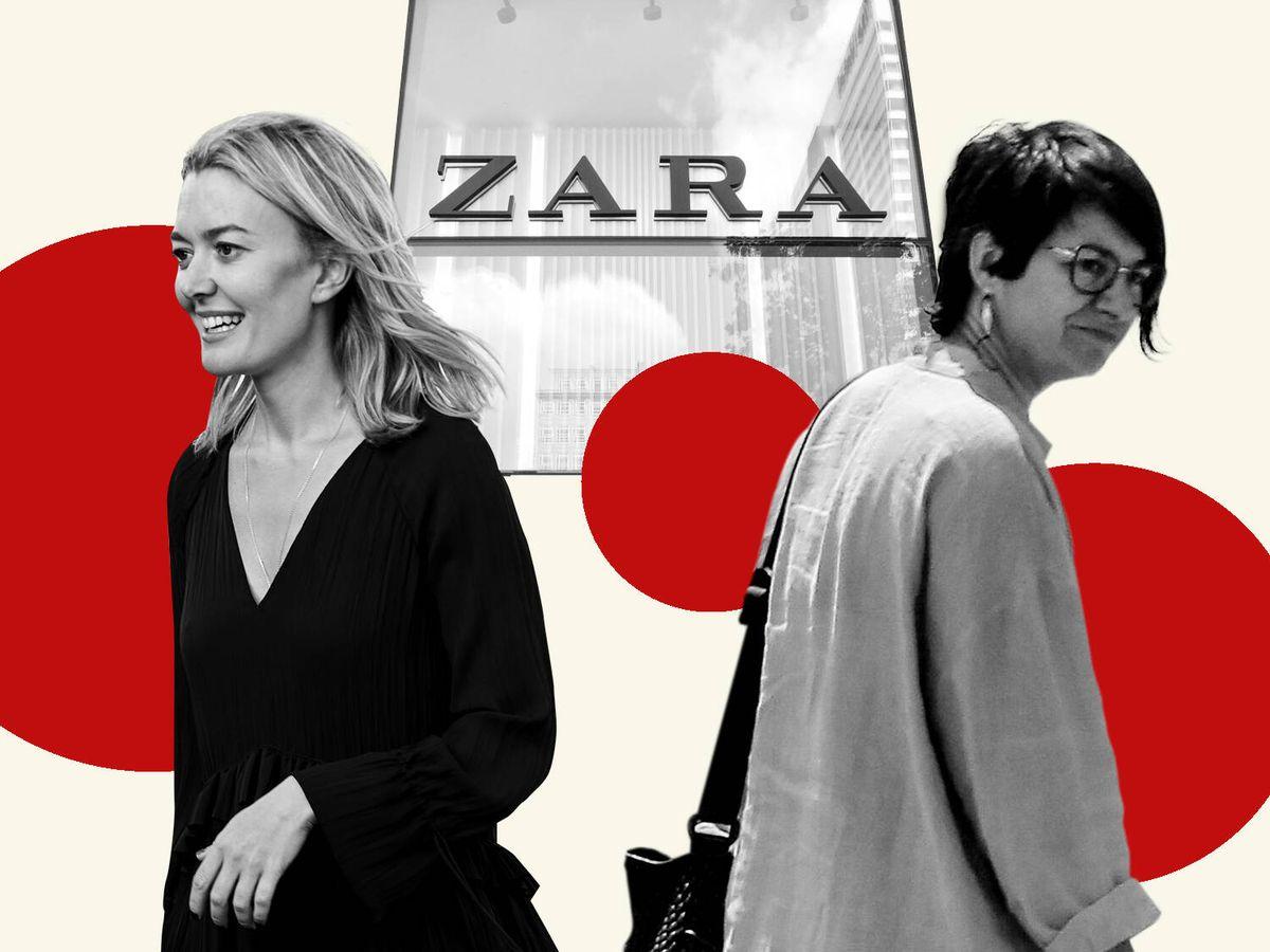 Foto: Marta Ortega Pérez y Sandra Ortega Mera, en un montaje de Vanitatis.