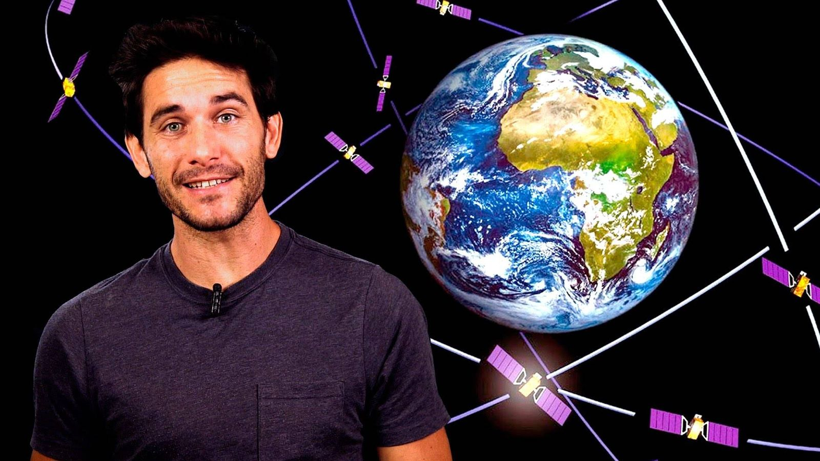 Foto: El canario Javier Santaolalla explica principios de la física cuántica en vídeos de cinco minutos. (Foto: Date un voltio/YouTube)