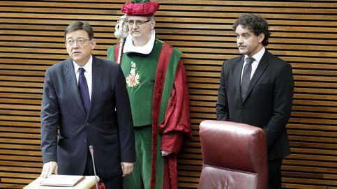 Puig toma posesión en plena crisis con Compromís por la formación del Consell