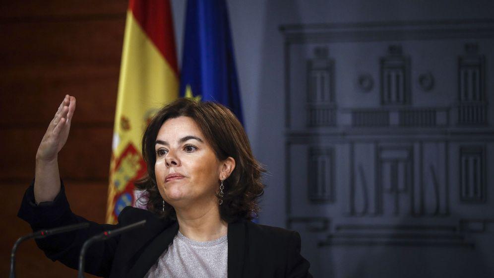 Foto: Soraya Sáenz de Santamaría (EFE)