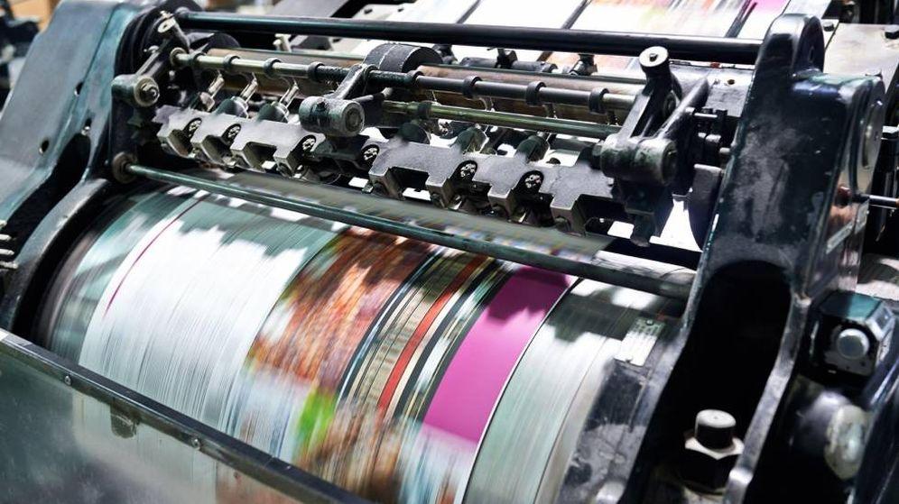 Foto: Imagen de archivo de una imprenta. (Circle Media Group)