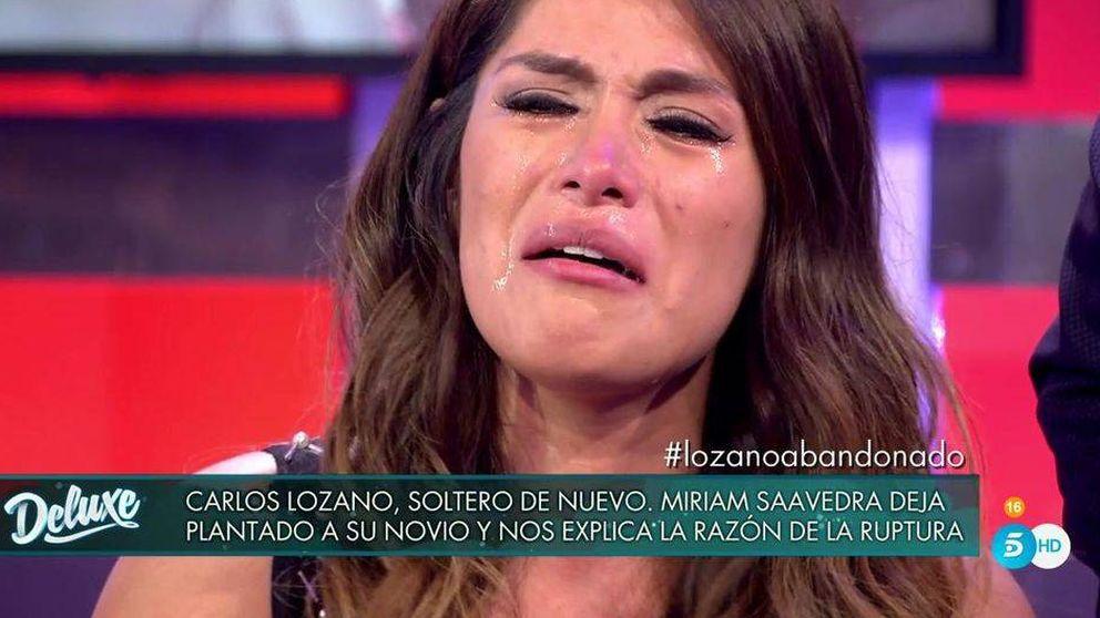 Miriam Saavedra se rompe al contar toda la verdad sobre Carlos Lozano