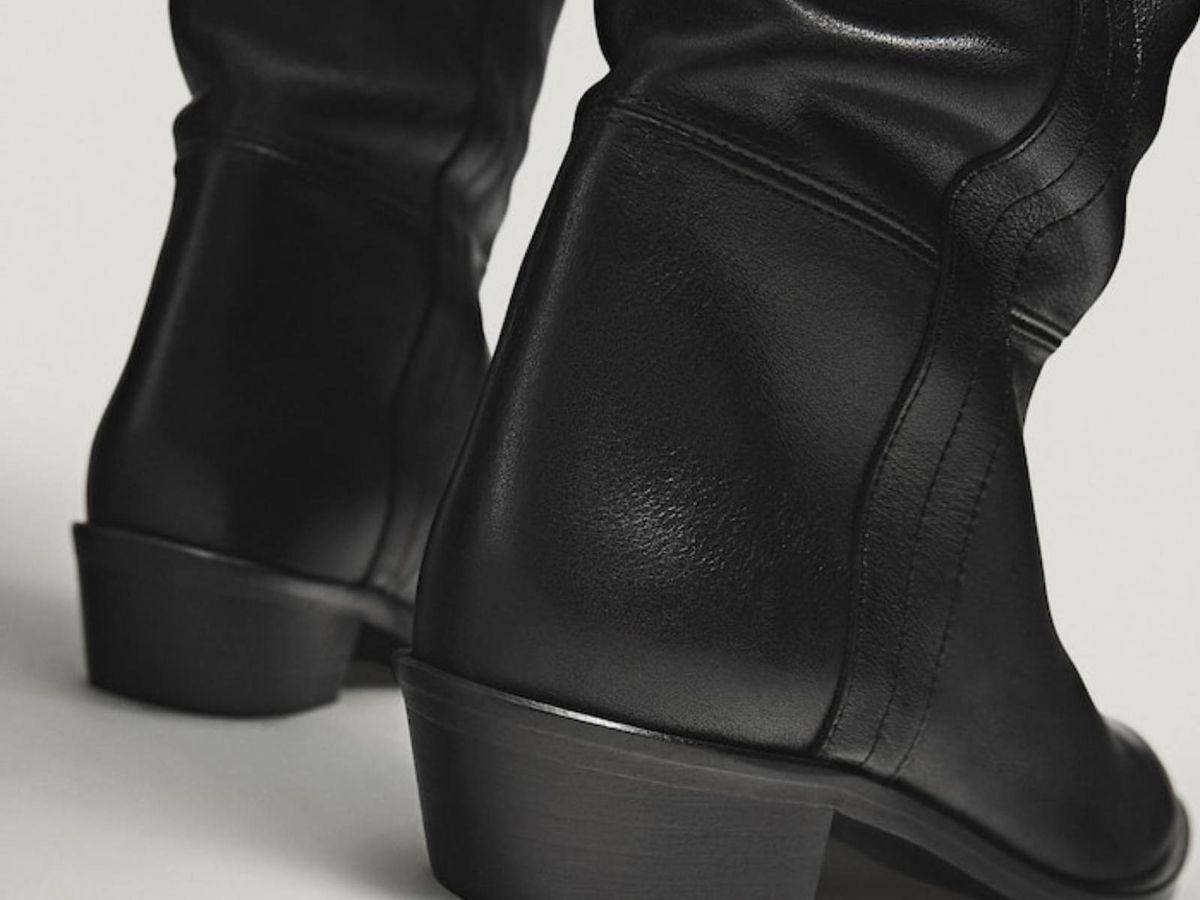 Foto: Las botas más cómodas de las rebajas de Massimo Dutti. (Cortesía)