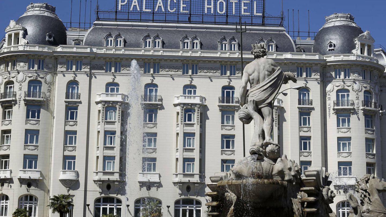 Imagen del hotel Palace de Madrid. (Gtres)