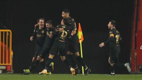 El Barça le remonta al Granada a base de fe en un partido con prórroga y 8 goles (3-5)