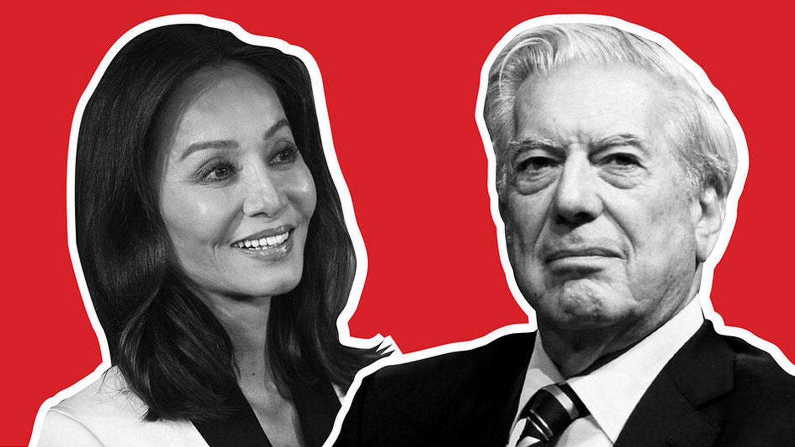 Foto: Isabel Preysler y Mario Vargas Llosa (Fotomontaje de 'Vanitatis')