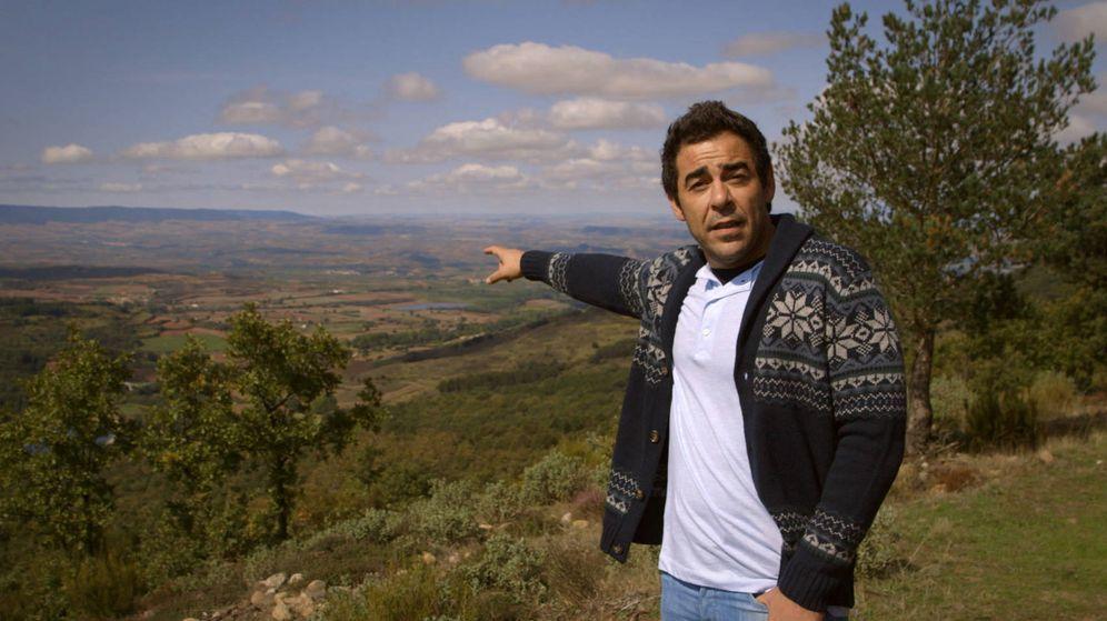 Foto: Pablo Chiapella, en la grabación del programa. (RTVE)