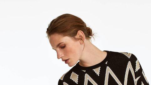 El jersey geométrico viral de Uterque que triunfa en Instagram