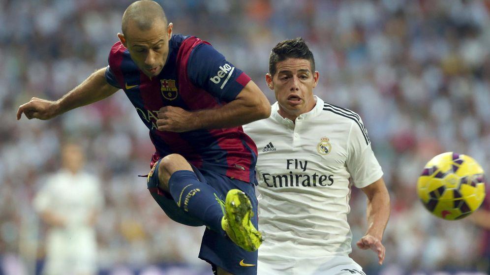 Foto: Mascherano sí podrá jugar el Clásico ante el Real Madrid (Efe).