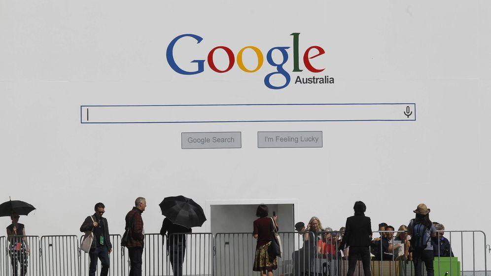 Foto: Exposición de Google en Sidney (EFE)