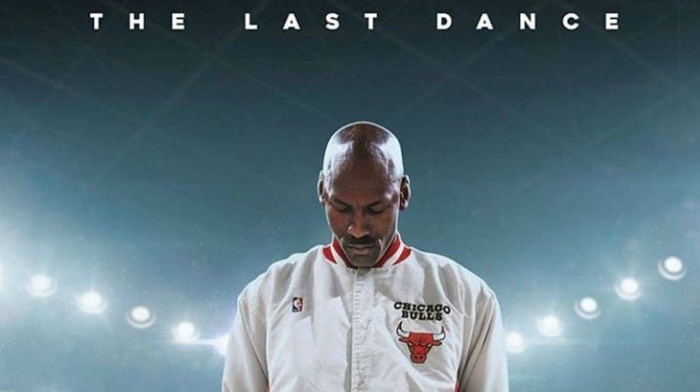 Foto: Michael Jordan en 'The last dance', de Netflix