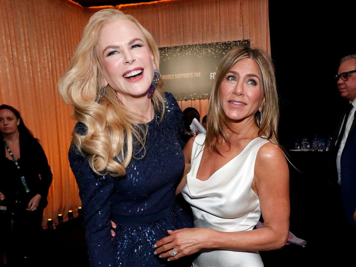 Foto: Nicole Kidman y Jennifer Aniston. (Reuters)