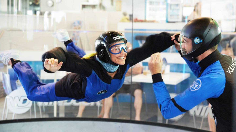 Llevátela a volar a un túnel del viento. (Foto: Cortesía)