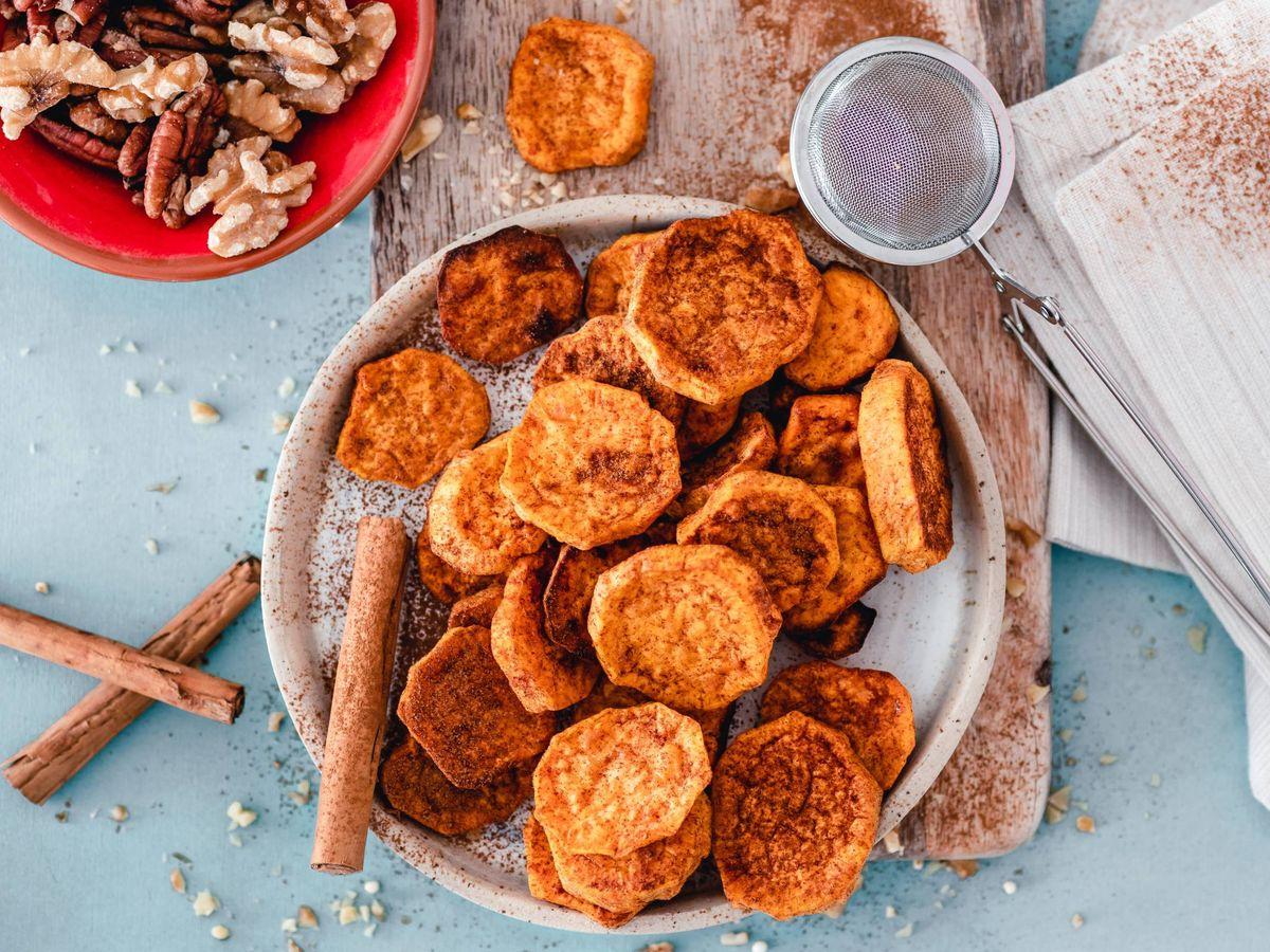 Foto: La batata es uno de esos buenos alimentos para adelgazar (Ella Olsson para Unsplash)