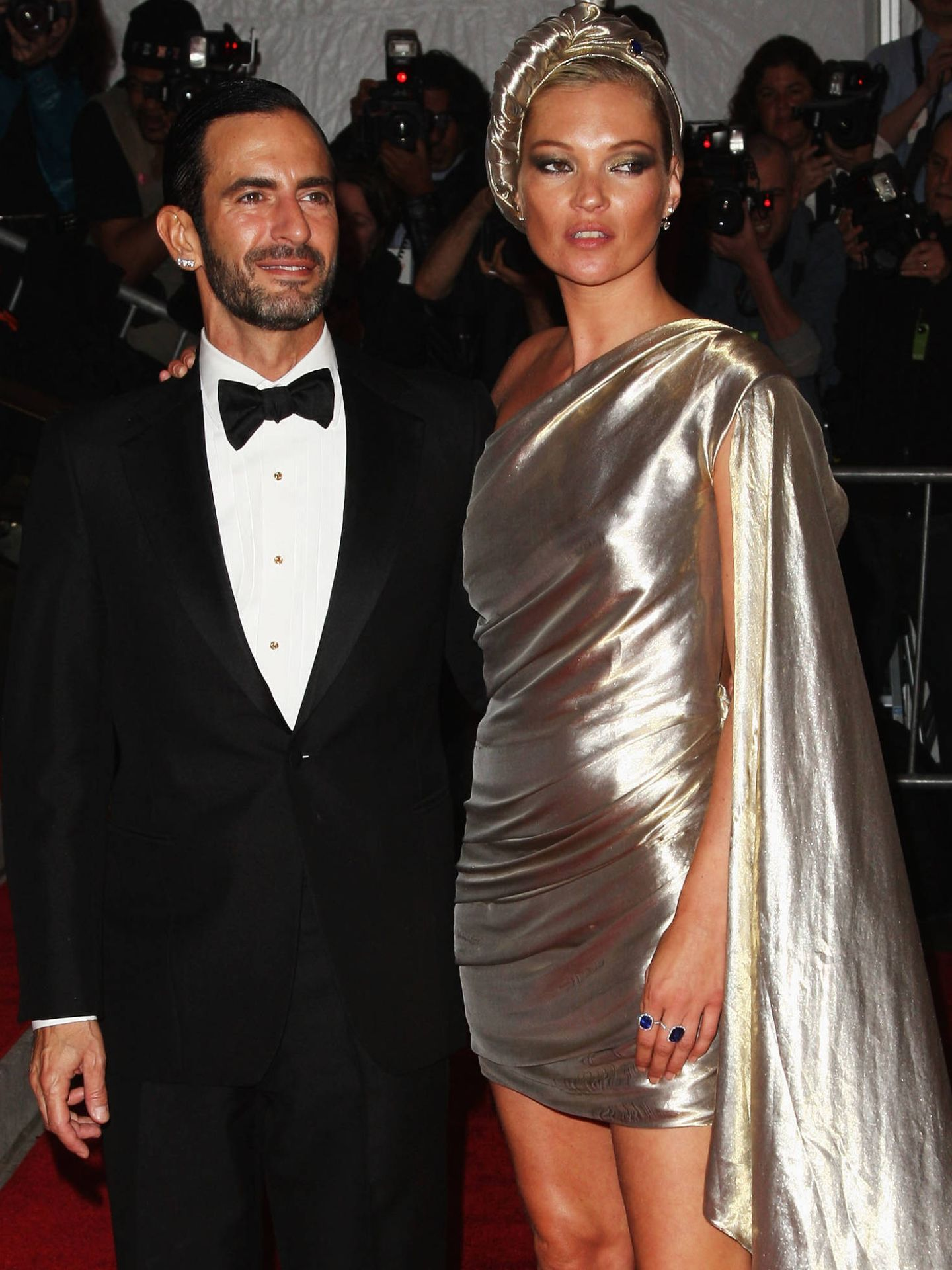 Marc Jacobs y Kate Moss (Getty Images)