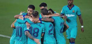 Post de El Barcelona se gusta contra el Villarreal y Bartomeu se hace la víctima con el VAR