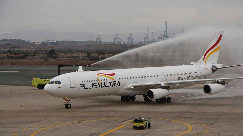 La Fiscalía pide a la jueza que desbloquee el pago de 34 millones a la aerolínea Plus Ultra