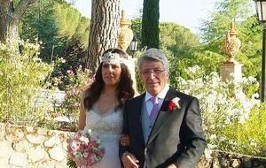 La hija de Cerezo se casa ante Santiago Segura y Gonzalo Miró