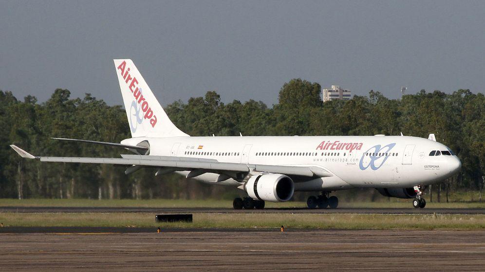 Foto: Imagen de un avión de la compañía. (EFE)