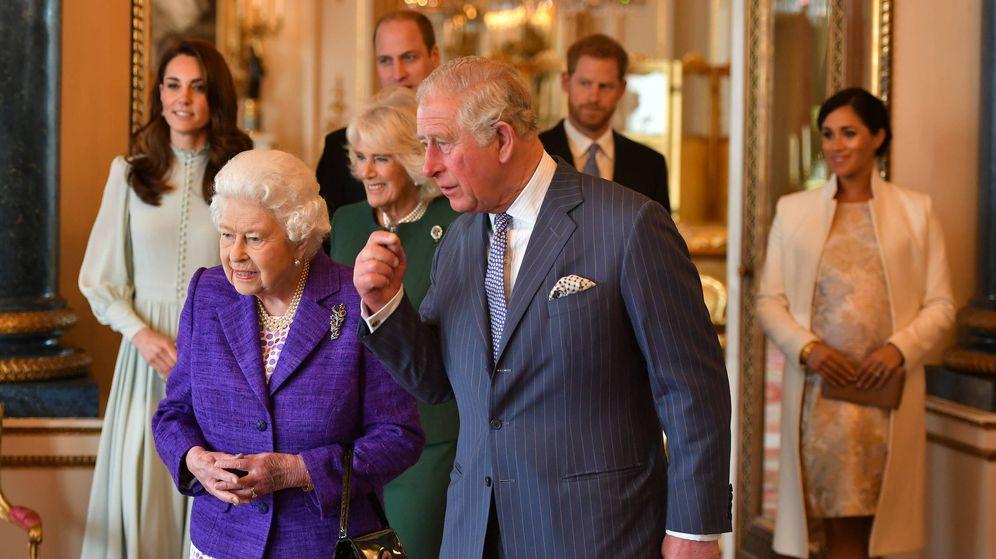 Foto: Celebración del 50 aniversario de la investidura del príncipe de Gales. (Getty)
