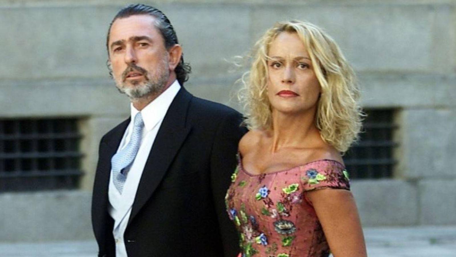 Foto: Francisco Correa y su exmujer Carmen Rodríguez.